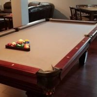 8' Pool Table In New Condition