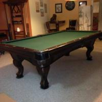 American Heritage 8ft Pool Table