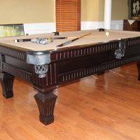 Olhausen Pool Table - Side Drawer - (2) sets of billiard balls