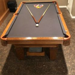 8 ft Full Size Pool Table (SOLD)