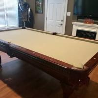 8' Fischer Pool Table