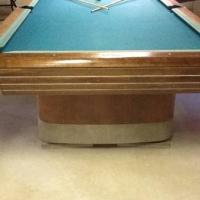 Antique Brunswick Pool Table For Sale